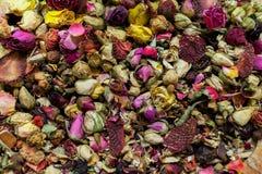 Chá das rosas vermelhas Fotos de Stock