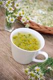 Chá de camomila Imagem de Stock Royalty Free