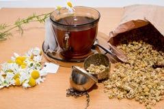 Chá de camomila Fotos de Stock Royalty Free