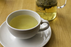 Chá de camomila de acalmação Fotografia de Stock Royalty Free