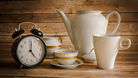 Chá de cinco horas imagens de stock