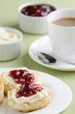 Chá de creme Fotografia de Stock Royalty Free