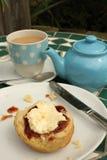 Chá de creme Imagem de Stock Royalty Free