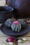 Chá de florescência (chá de florescência) Imagens de Stock Royalty Free