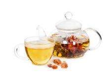 Chá de florescência chinês Imagens de Stock
