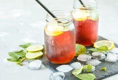 Chá de gelo Imagens de Stock Royalty Free