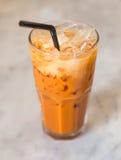 Chá de gelo tailandês foto de stock royalty free
