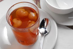 Chá de Longan Foto de Stock Royalty Free