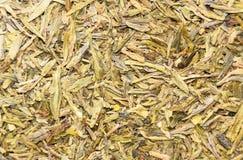Chá de Longjing ou chá de Dragon Well imagens de stock royalty free