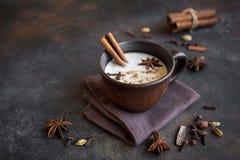 Chá de Masala chai foto de stock royalty free
