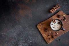 Chá de Masala chai fotos de stock