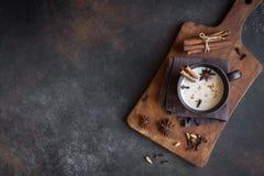 Chá de Masala chai imagem de stock royalty free