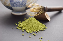 Chá de Matcha Fotos de Stock Royalty Free