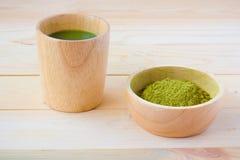 Chá de Matcha Fotos de Stock