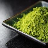 Chá de Matcha Imagens de Stock