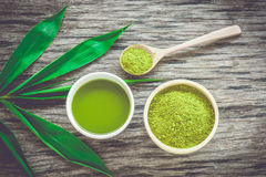 Chá de Matcha Imagem de Stock Royalty Free