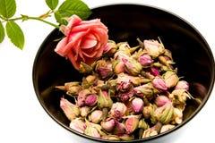 Chá de Rosa Fotografia de Stock Royalty Free