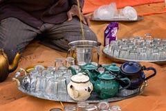 Chá de Saharawi foto de stock royalty free