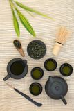Chá de Sencha do japonês Foto de Stock Royalty Free