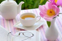 Chá de tarde Imagem de Stock