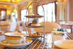 Chá de tarde foto de stock