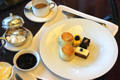 Chá de tarde Fotos de Stock Royalty Free