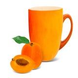 Chá do abricó imagens de stock royalty free