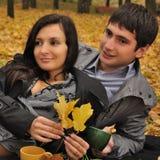 Chá do amor Fotografia de Stock