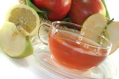 chá do Apple-limão Imagem de Stock Royalty Free