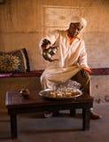 Chá do Berber Imagens de Stock