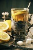 Chá do estilo do russo Fotografia de Stock