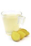 Chá do gengibre Imagem de Stock