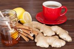 Chá do gengibre imagens de stock royalty free