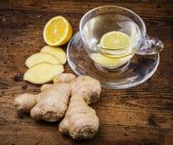 Chá do gengibre Imagem de Stock Royalty Free