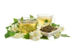 Chá do jasmim Fotos de Stock