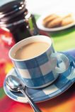 Chá do leite fotos de stock royalty free