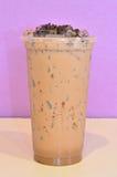Chá do leite de chocolate fotos de stock