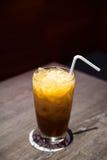 Chá do leite de gelo Fotografia de Stock Royalty Free