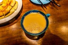 Chá do leite de Xinjiang do chinês fotos de stock