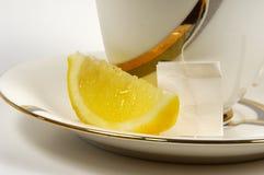 Chá do limão fotografia de stock royalty free