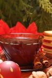 Chá do Natal Foto de Stock