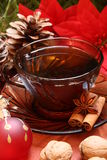 Chá do Natal Fotos de Stock