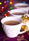 Chá do Natal fotos de stock royalty free
