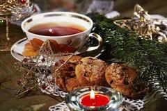 Chá do Natal Imagens de Stock Royalty Free
