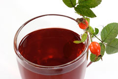 Chá do Rosehip Foto de Stock