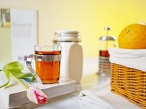 Chá doce da manhã Imagens de Stock Royalty Free