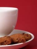 Chá e biscoitos Imagem de Stock Royalty Free