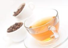 Chá e café Fotos de Stock Royalty Free