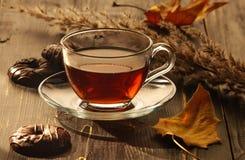 Chá e padaria Imagem de Stock Royalty Free
