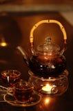 Chá e Teapot imagens de stock royalty free